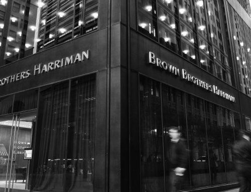 Spotkanie z dyrektorem firmy Brown Brothers Harriman!