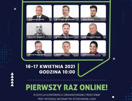 IX Cracow Conference of Financial Mathematics